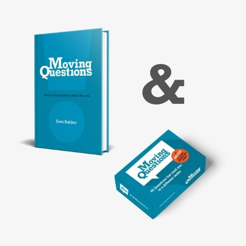 Moving Questions book and card deck