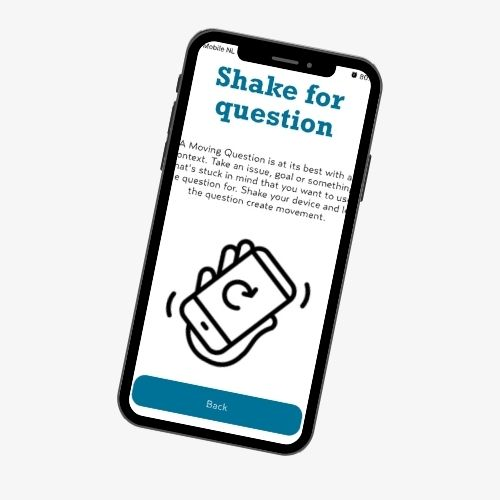 Moving Questions app